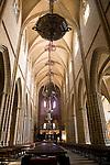 Nave, Cathedral, Pamplona, Navarra, Spain