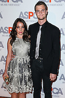 BEL AIR, CA, USA - OCTOBER 22: Jennifer Blakeslee, Jack Quaid arrive at the 2014 ASPCA Compassion Award Dinner Gala held at a Private Residence on October 22, 2014 in Bel Air, California, United States. (Photo by Xavier Collin/Celebrity Monitor)