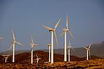 Wind turbines, Poris de Abona, Tenerife, Canary Islands, Spain