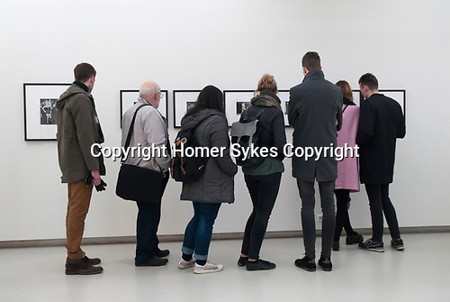 "Kaunas Photography Gallery, Kaunas, Lithuania. April 2017.  Opening night of ""England 1970-1980""."