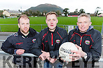 Peter O'Sullivan, Aidan O'Shea and John Dorgan Glenbeigh management team