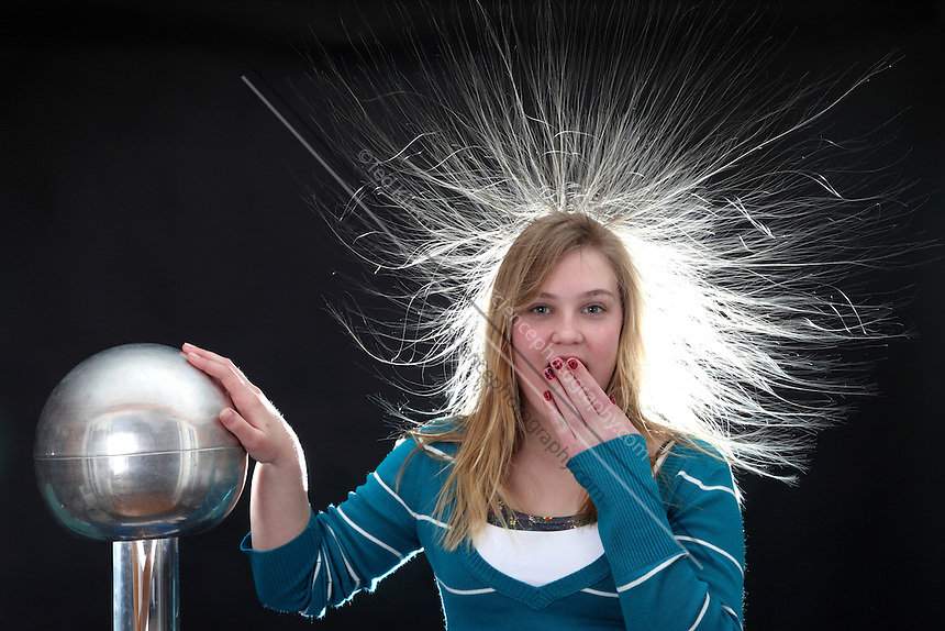 electrostatic generator sciencephotography