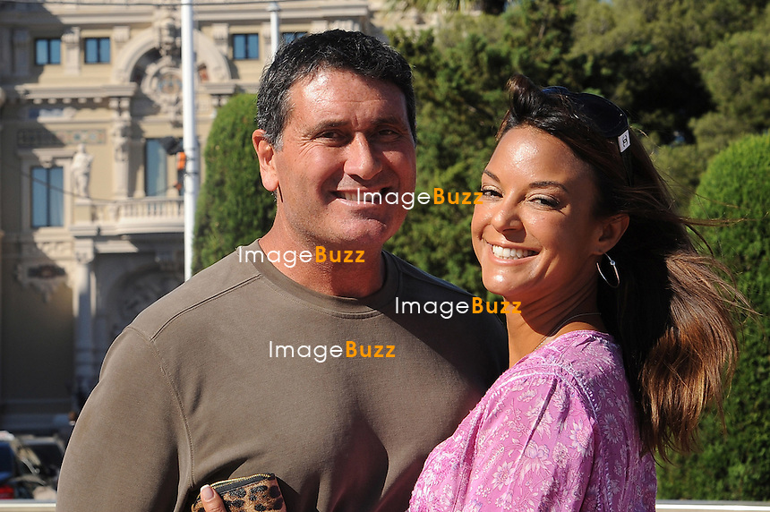 "Eva LaRue from CSI Miami  "" Les Experts "" poses with husband Joe Cappuccio in Monaco during the 52nd Monte Carlo TV Festival on June 11, 2012 in Monte-Carlo, Monaco. EXCLUSIVE"