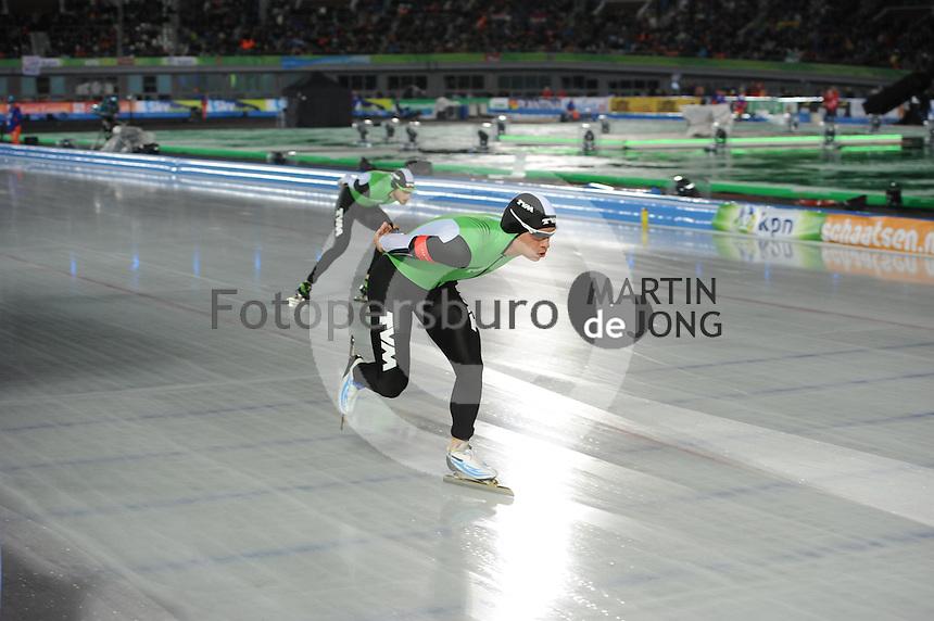 SCHAATSEN: AMSTERDAM: Olympisch Stadion, 01-03-2014, KPN NK Sprint/Allround, Coolste Baan van Nederland, ©foto Martin de Jong
