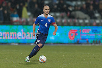 Aarhus, Denmark - Wednesday, March 25, 2015: The USMNT was defeated by Denmark 3-2 in an international friendly at NGRi Park.