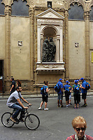 Ciclisti a Firenze. Cyclists in Florence.
