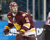 Travis Oleksuk (Duluth - 11) - The University of Minnesota-Duluth Bulldogs defeated the Union College Dutchmen 2-0 in their NCAA East Regional Semi-Final on Friday, March 25, 2011, at Webster Bank Arena at Harbor Yard in Bridgeport, Connecticut.