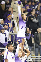Nov 08, 2014:  Washington cheerleader Cassidy Buchholz pumped up fans during the game against UCLA.  Washington defeated UCLA at Husky Stadium in Seattle, WA.