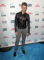 Brad Goreski.Bravo's Andy Cohen's Book Release Party For &quot;Most Talkative: Stories From The Front Lines Of Pop Held at SUR Lounge, West Hollywood, California, USA..May 14th, 2012.full length grey gray trousers black leather jacket glasses .CAP/ADM/KB.&copy;Kevan Brooks/AdMedia/Capital Pictures.