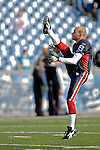 26 November 2006: Buffalo Bills punter Brian Moorman (8) warms up prior to a game against the Jacksonville Jaguars at Ralph Wilson Stadium in Orchard Park, NY. The Bills defeated the Jaguars 27-24. Mandatory Photo Credit: Ed Wolfstein Photo<br />