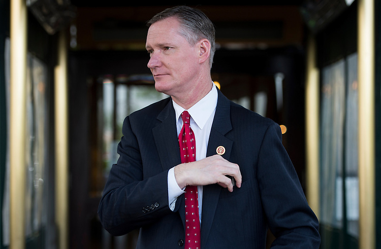 UNITED STATES - MAY 20: Rep. Steve Stivers, R-Ohio, leaves the House Republican Conference meeting at the Capitol Hill Club on Tuesday, May 20, 2014. (Photo By Bill Clark/CQ Roll Call)