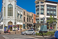 Rodeo Drive, Via Rodeo, Luxury Shopping, Beverly Hills, California,