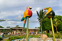 Town of Tortuguero, Costa Rica, Central America.