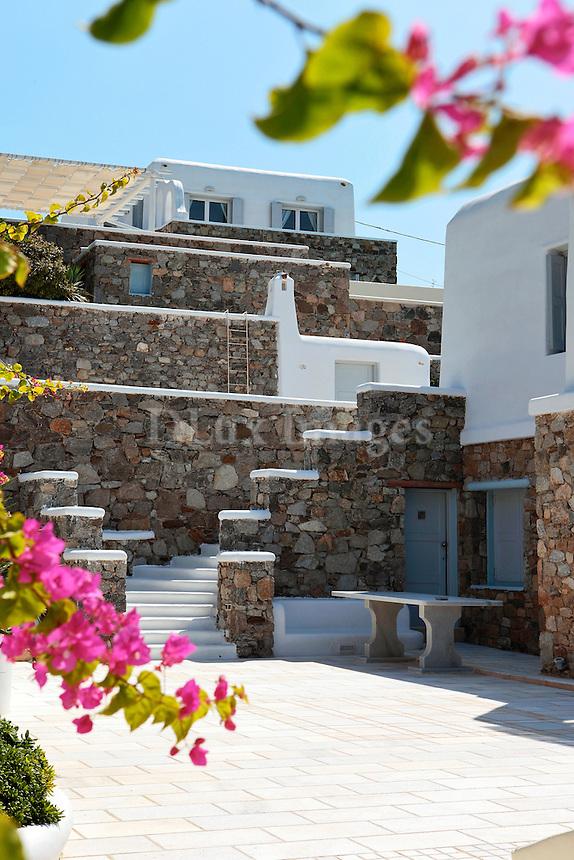 traditional stone villa