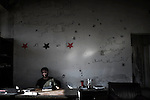 Syria, Bab Al Hawa. Custom office in Bab Al Hawa border on September 18, 2012. ALESSIO ROMENZI