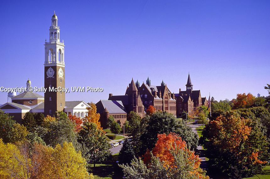 University Row, UVM Campus, Fall. UVM Fall Campus UVM Fall Campus