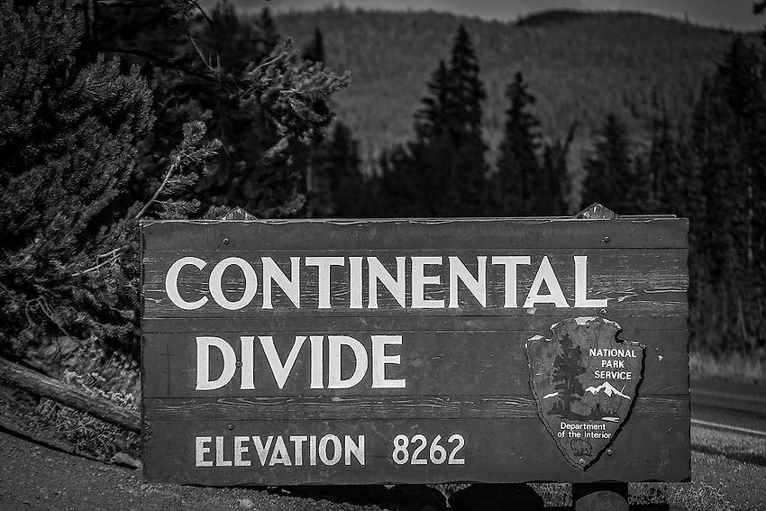 Continental Divide, Yellowstone National Park