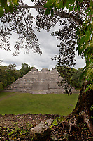 Ancient Mayan ruins of Carocol, Belize