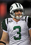 3 December 2009: New York Jets' place kicker Jay Feely looks on field during a game against the Buffalo Bills at the Rogers Centre in Toronto, Ontario, Canada. The Jets defeated the Bills 19-13. Mandatory Credit: Ed Wolfstein Photo