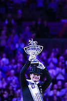 OMAHA, NEBRASKA - MAR 30: Isabell Werth wins the Longines FEI World Cup Dressage Final at the CenturyLink Center on March 31, 2017 in Omaha, Nebraska. (Photo by Taylor Pence/Eclipse Sportswire/Getty Images)