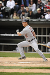 CHICAGO - APRIL 13:  Andy Dirks #12 of the Detroit Tigers bats against the Chicago White Sox on April 13, 2012 bats U.S. Cellular Field in Chicago, Illinois.  The White Sox defeated the Tigers 5-2.  (Photo by Ron Vesely)   Subject:  Andy Dirks