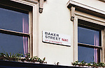 Baker Street NW1, City Of Westminster, England, Sign
