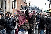 Roma 5 Novembre 2012.Il  funerale di Pino Rauti.