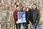 Parents with children who have CF are marching on the Dail on December 7th to make a Life Saving Drug available, from left are: Marissa Reidy, Laura Jane Nealon with her son Evan and John Lane, .