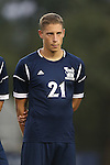01 October 2013: UNCW's Nathaniel Goodwin. The Duke University Blue Devils hosted the University of North Carolina Wilmington Seahawks at Koskinen Stadium in Durham, NC in a 2013 NCAA Division I Men's Soccer match. UNCW won the game 2-1.