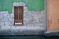 Annecy, France window and wall