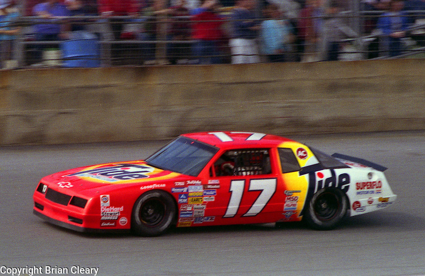 Darrell Waltrip #17 Chevrolet Daytona 500 at Daytona International Speedway in Daytona Beach, FL on February 14, 1988. (Photo by Brian Cleary/www.bcpix.com)