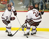 Kevin McNamara (Colgate - 10), Nathan Sinz (Colgate - 24), Mike Hull (Army - 9) - The host Colgate University Raiders defeated the Army Black Knights 3-1 in the first Cape Cod Classic on Saturday, October 9, 2010, at the Hyannis Youth and Community Center in Hyannis, MA.
