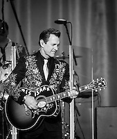 LAS VEGAS, NV - July 30, 2016: ***HOUSE COVERAGE*** Chris Isaak performs at The Joint at Hard Rock Hotel & Casino in Las vegas, NV on July 30, 2016. Credit: Erik Kabik Photography/ MediaPunch