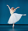 The Royal Danish Ballet soloists &amp; principals <br /> Bournoville Celebration <br /> at The Peacock Theatre, London, Great Britain <br /> press photocall<br /> 9th January 2015 <br /> <br /> La Sylphide <br /> <br /> <br /> Gudrun Bojesen as the Sylph <br /> <br /> <br /> <br /> <br /> Photograph by Elliott Franks <br /> Image licensed to Elliott Franks Photography Services