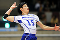 Tatsuya Fukuzawa (Panthers), MARCH 5, 2011 - Volleyball : 2010/11 Men's V.Premier League match between Toyoda Gosei Trefuerza 1-3 Panasonic Panthers at Tokyo Metropolitan Gymnasium in Tokyo, Japan. (Photo by AZUL/AFLO).