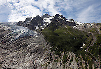 Glacier du Trient, above Trient, Switzerland.