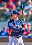 4 March 2016: Houston Astros outfielder Derek Fisher in action during a Spring Training pre-season game against the St. Louis Cardinals at Osceola County Stadium in Kissimmee, Florida. The Astros defeated the Cardinals 6-3 in Grapefruit League play. Mandatory Credit: Ed Wolfstein Photo *** RAW (NEF) Image File Available ***