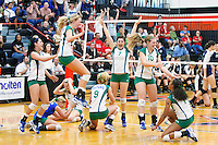 Nov. 12, 2011: The Gators of Green Valley High School (Nevada) celebrate match point and win the NIAA 4A State Championship. .The Gators were previously runner-up the past two years.