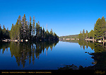 Alpine Lake, Stanislaus National Forest, Highway 4, Alpine County, California