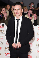 Aaron Sidwell at the National TV Awards 2017 held at the O2 Arena, Greenwich, London. <br /> 25th January  2017<br /> Picture: Steve Vas/Featureflash/SilverHub 0208 004 5359 sales@silverhubmedia.com