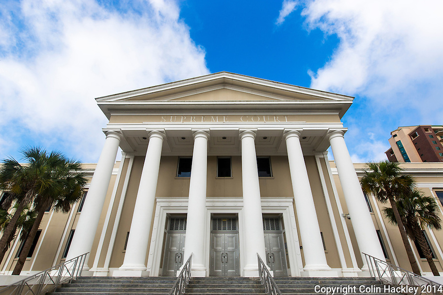 TALLAHASSEE, FLA. The Florida Supreme Court building in Tallahassee, Fla.<br /> <br /> COLIN HACKLEY PHOTO