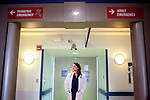 AUGUSTA, GEORGIA - NOVEMBER 20: Emergency Room Physician Dr. Gina Piazza poses for a portrait at MCGHealth November 20, 2009. Dr. Piazza, a New York Institute of Technology graduate, has worked at the hospital for three years.  (Photo by Kendrick Brinson/Getty Images for the New York Institute of Technology Magazine).