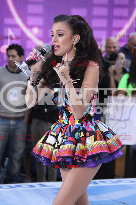 August 30, 2012: Cher Lloyd performs on the Today Show Toyota Concert Series in New York City...&copy; RW/MediaPunch Inc. /NortePhoto.com<br /> <br /> **CREDITO*OBLIGATORIO** <br /> *No*Venta*A*Terceros*<br /> *No*Sale*So*third*<br /> *** No*Se*Permite*Hacer*Archivo**<br /> *No*Sale*So*third*