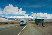 Death Valley National Park, Panamint Range,  Rt. 190;; Desert; Great Basin; California;  Panamint Valley