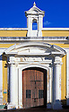 Entrance to Chapel at San Cristóbal fort; San Juan Natl Historic Site, Puerto Rico..