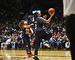 "Fans participate in an event at Ole Miss vs. Auburn at the C.M. ""Tad"" Smith Coliseum on Saturday, February 23, 2013.  (AP Photo/Oxford Eagle, Bruce Newman)"