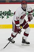 John Marino (Harvard - 12) - The Harvard University Crimson tied the visiting Yale University Bulldogs 1-1 on Saturday, January 21, 2017, at the Bright-Landry Hockey Center in Boston, Massachusetts.