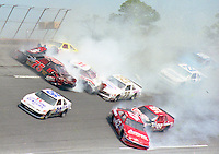 Big 1990 Daytona Busch Series Crash