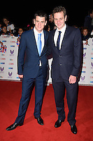 LONDON, UK. October 31, 2016: Jonny Brownlee &amp; Alistair Brownlee at the Pride of Britain Awards 2016 at the Grosvenor House Hotel, London.<br /> Picture: Steve Vas/Featureflash/SilverHub 0208 004 5359/ 07711 972644 Editors@silverhubmedia.com