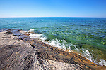 Pictured Rocks, tropical looking Lake Superior, Blue Green Water